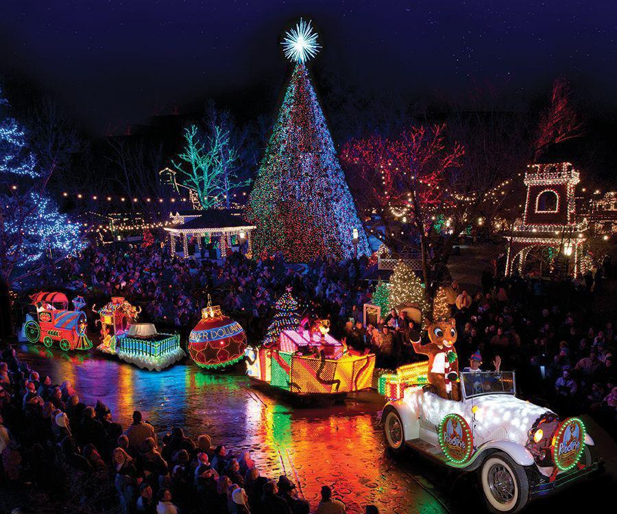 5 Best Christmas Light Road Trips - Silver Dollar City