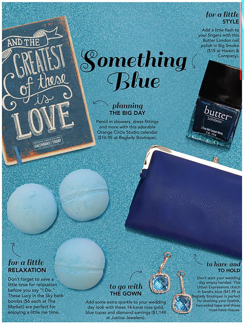 Something Blue: 5 Things We Love