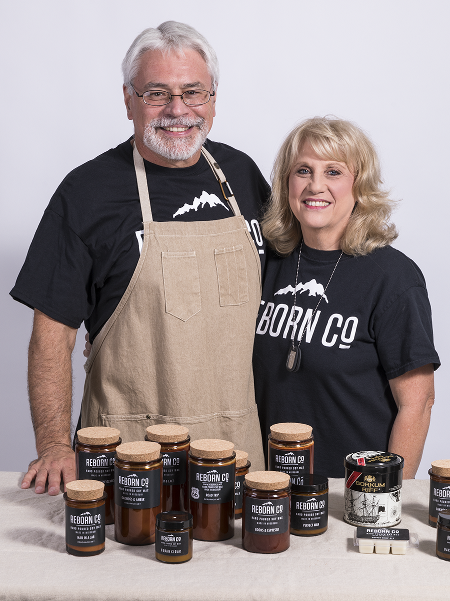 Sparking New Business - Reborn Co. - Patty and Carlton Johnson