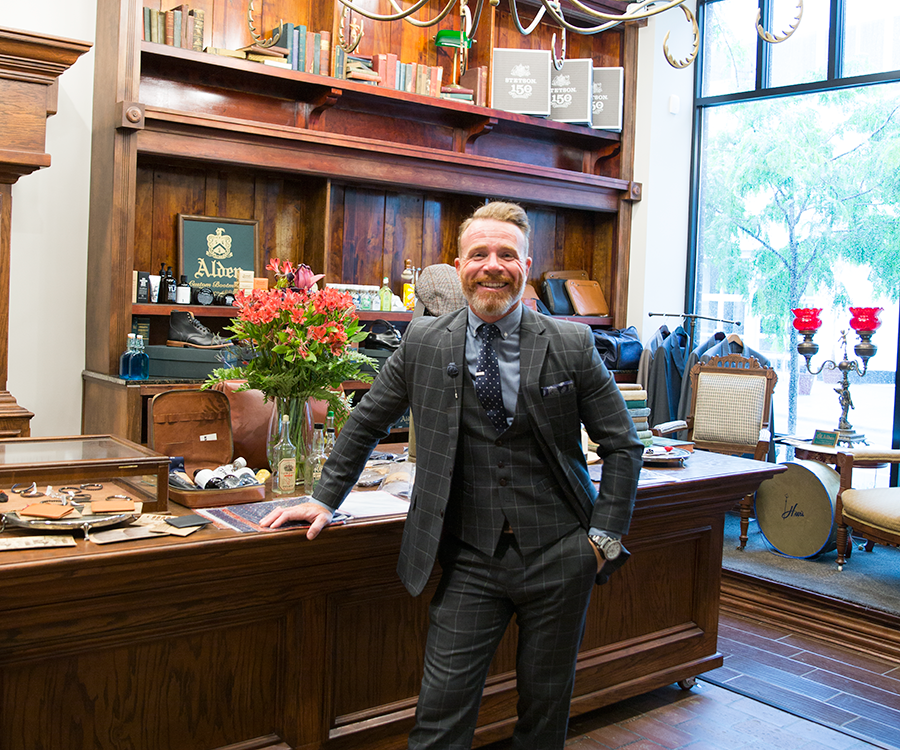 Sean Brownfield of The Haberdasher