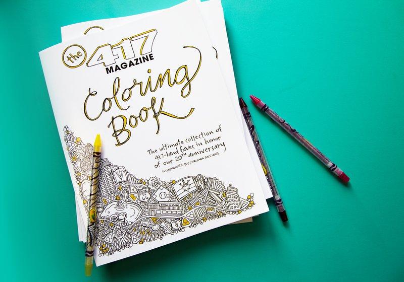 417 Coloring book promo