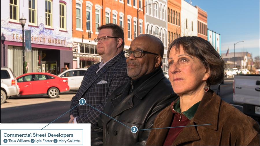 Hot Spots: Commercial Street Developers