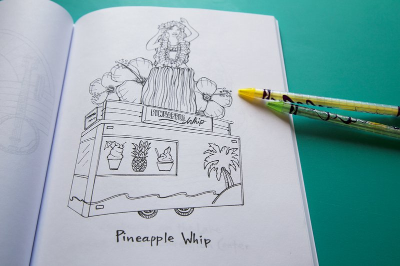 PWhip coloring book page