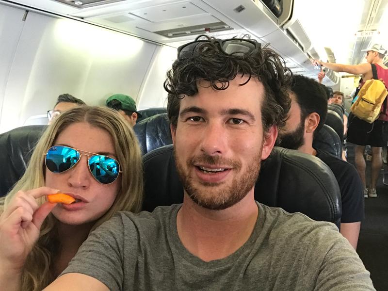 Fyre festival return flight